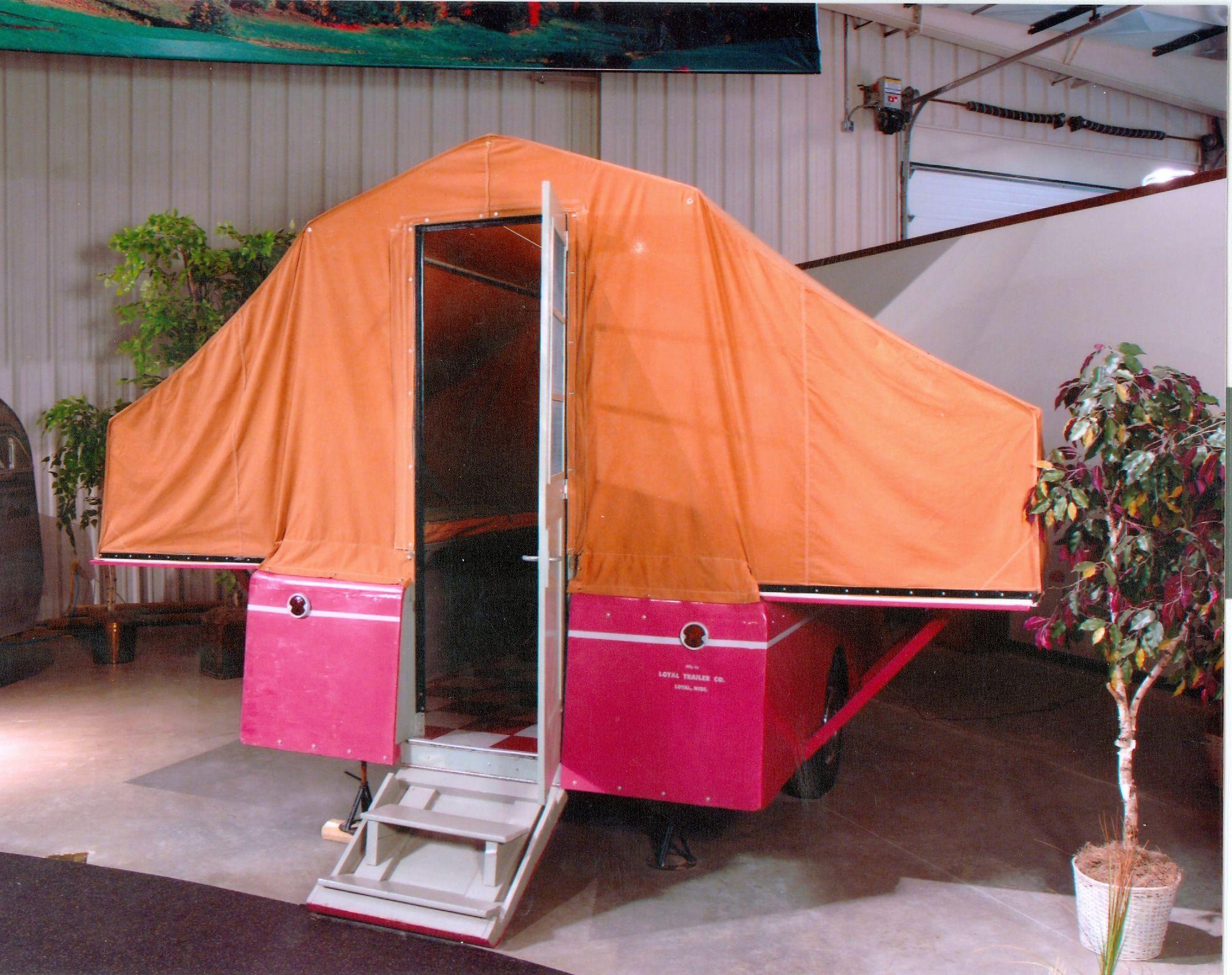 1956 E Z Kamper Tent Trailer Prototype Pop Up Campers