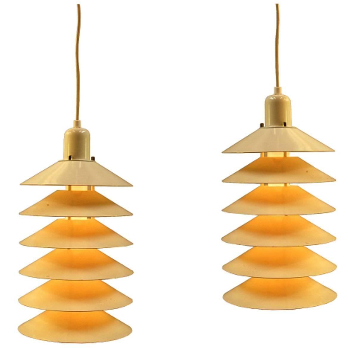 Set of tiptop lamps by jørgen gammelgaard for design forum
