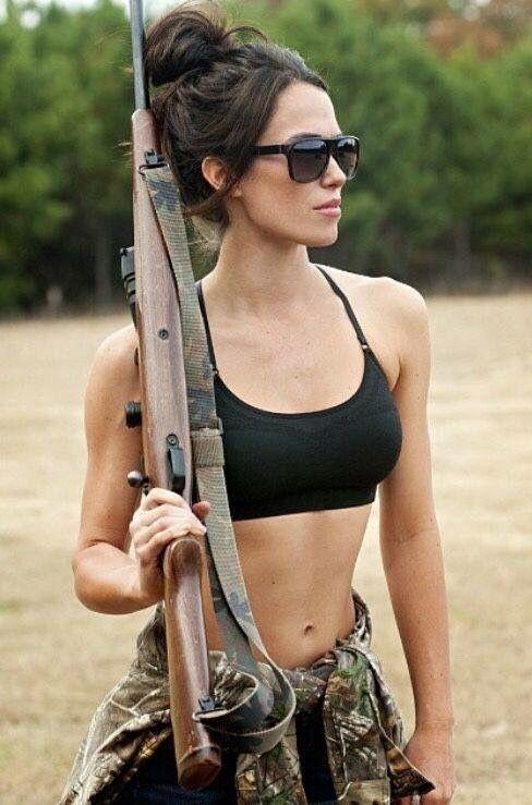 sexys girls with guns