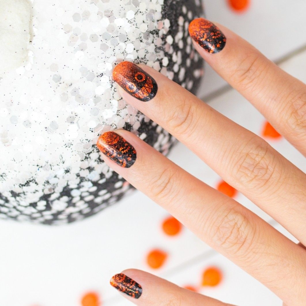 Colorstreet Pumpkin To Talk About Halloween Collection Order Today Link Color Street Nails Color Street Pumpkin Nails