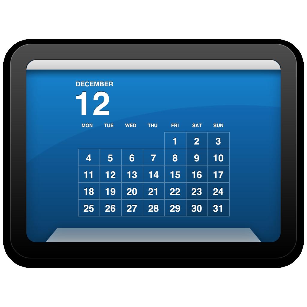 そしてカレンダー表示はこのDesktop Calendar Plusを使ってます。このアプリはかつてカレンダー壁紙を創作して公開されていた三階ラボさんが制作されたアプリで秀逸でクールなデスクトップが手軽に作れます。Mac OS標準カレンダーとリマインダーのデータを表示できるようにアップデート予定がありますので今後UIだけでなく更に高機能になります。