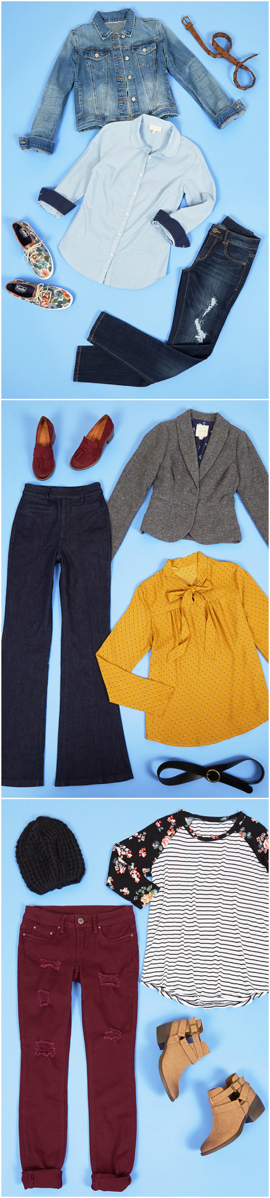 Delightful denim styling tips for work, casual moments, and head-to-toe jeans!