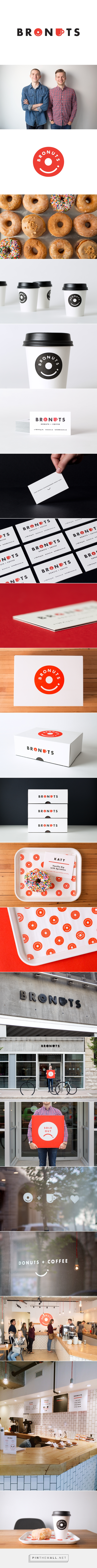 Bronuts Brand Identity on Behance... - a grouped images picture - Pin Them All