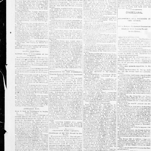 The record-union. (Sacramento, Calif.) 1891-1903, July 22, 1892, Creating Columbus Day