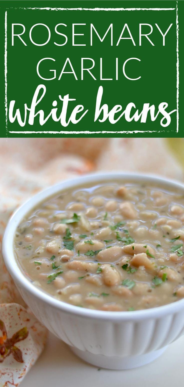 Rosemary Garlic White Beans Zoe S Kitchen Copycat
