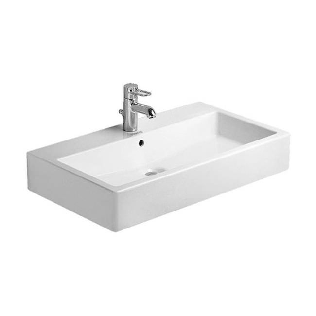 Picture Gallery Website Duravit Vero White mm Tap Hole Grinded Washbasin