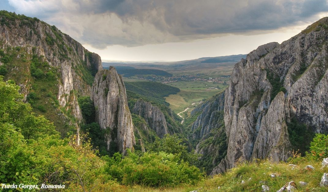 Romania Turda Gorge Romania Carpathian mountains beautiful landscape Transylvania Europe