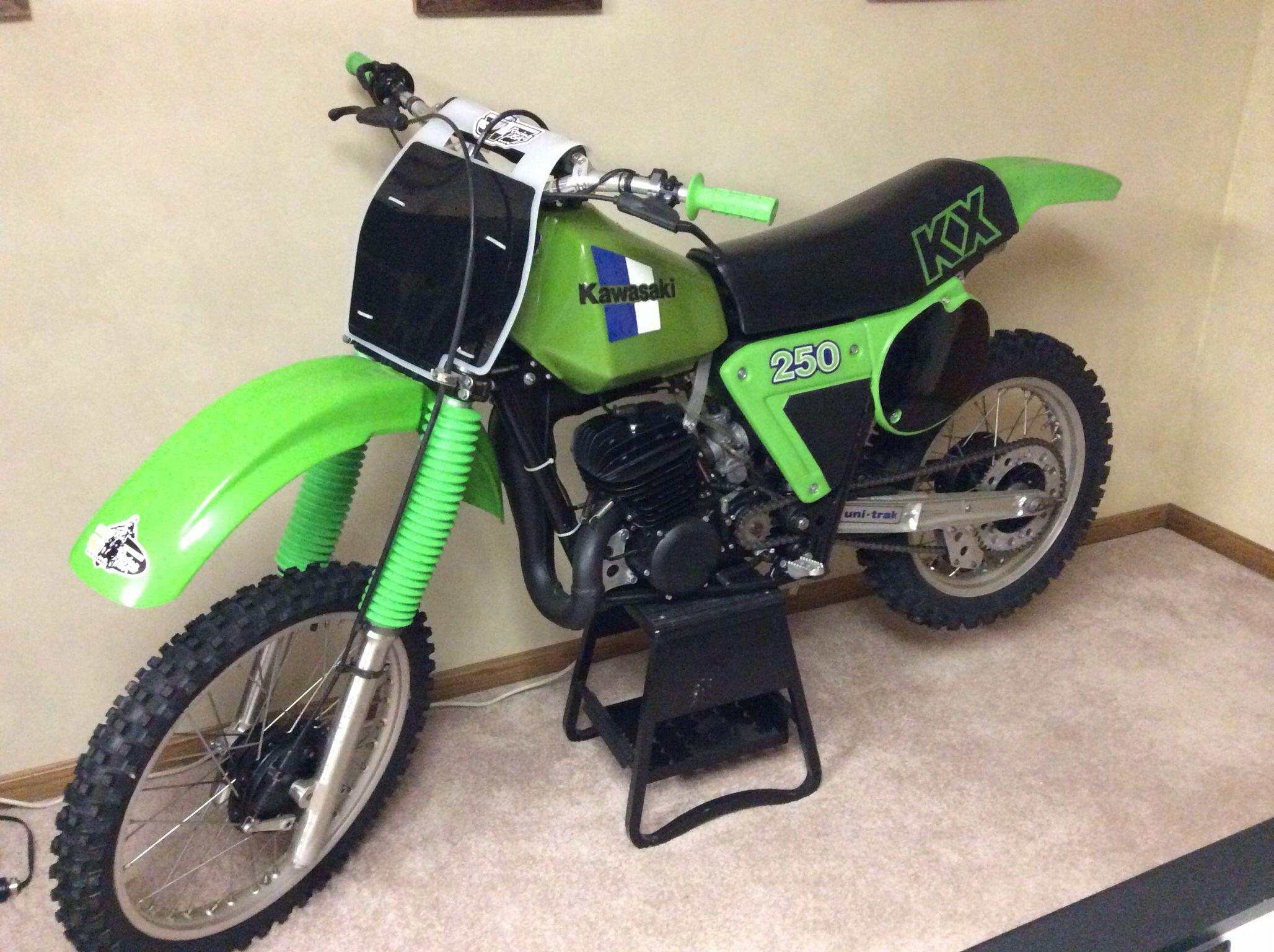 1980 Kawasaki kx 250
