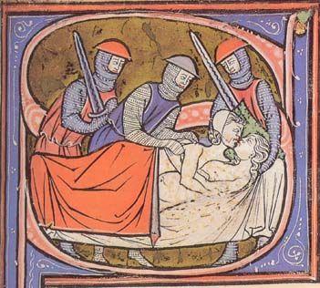 Image result for medieval manuscript gossiping monks