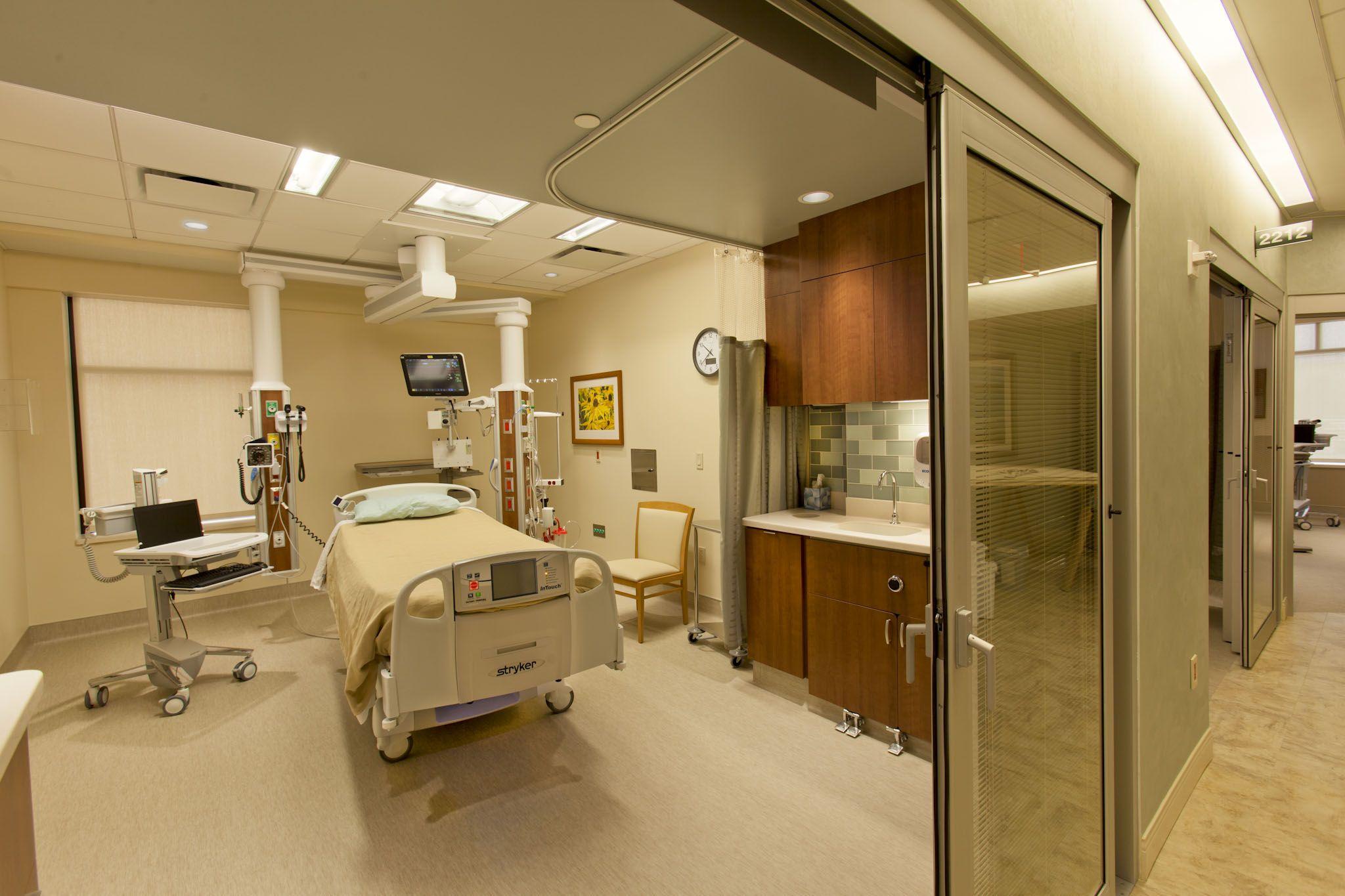 intensive care unit doors International Contractors, Inc