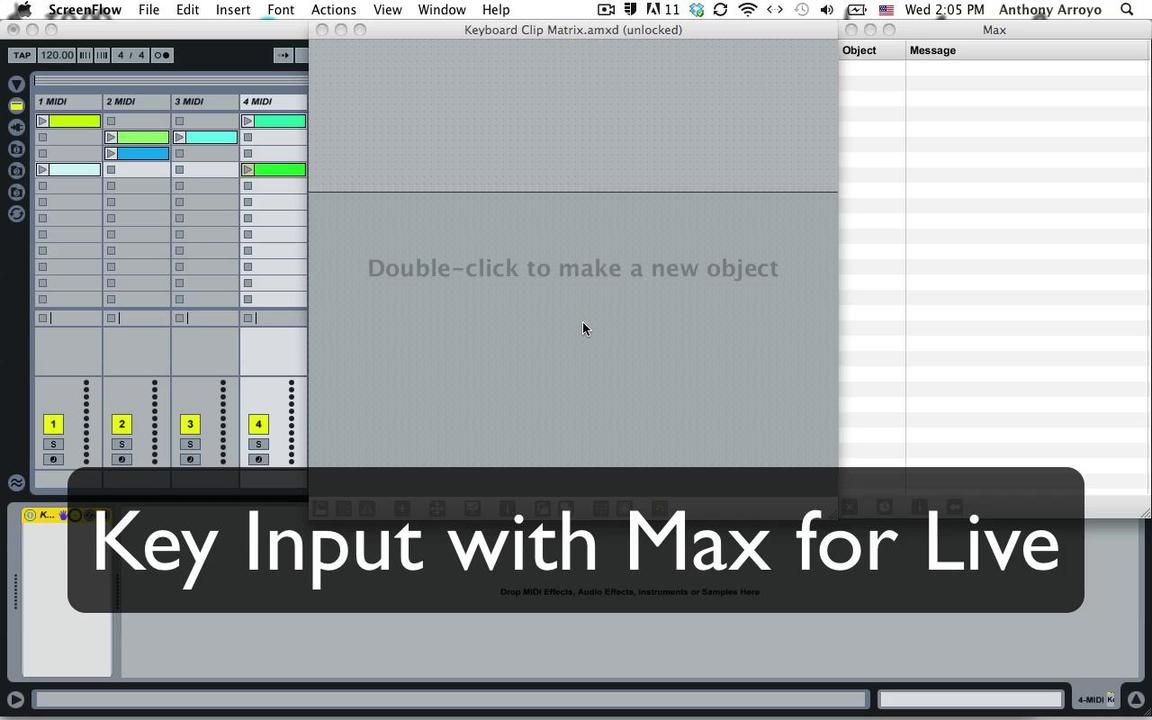 Get Patching: Make a Simple Clip Launcher with Max for Live