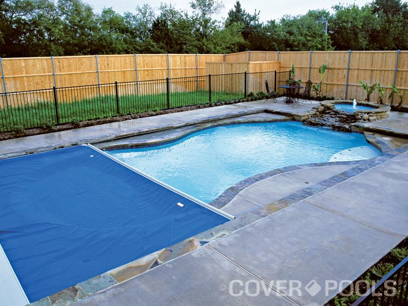 Another Interesting Freeform Looking Pool With Automatic Pool