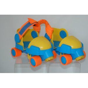 Image detail for -Amazon.com: Fisher Price #2344 Adjustable 1-2-3 Roller Skates ... These were like my first skates.