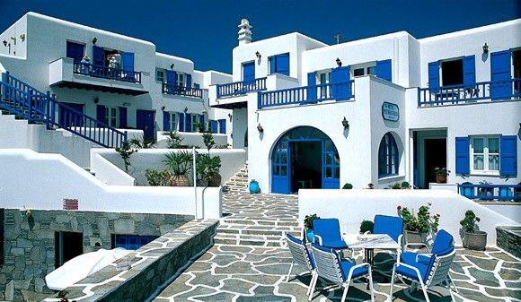 Petinos Beach Hotel Mykonos Greece