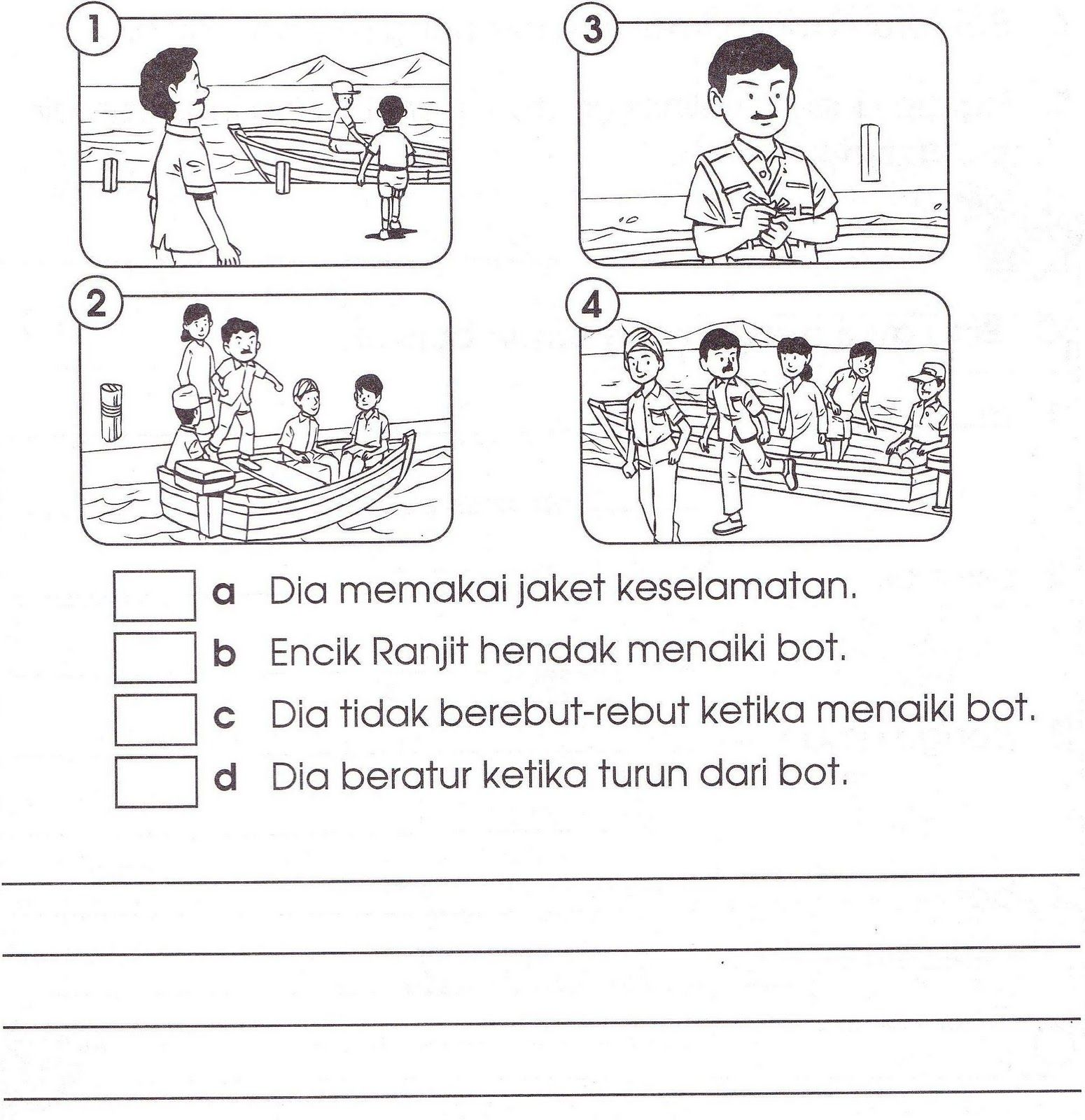 Bahasa Melayu Tahun 2 Latihan Dan Aktiviti School Kids Activities Preschool Activities Preschool Worksheets