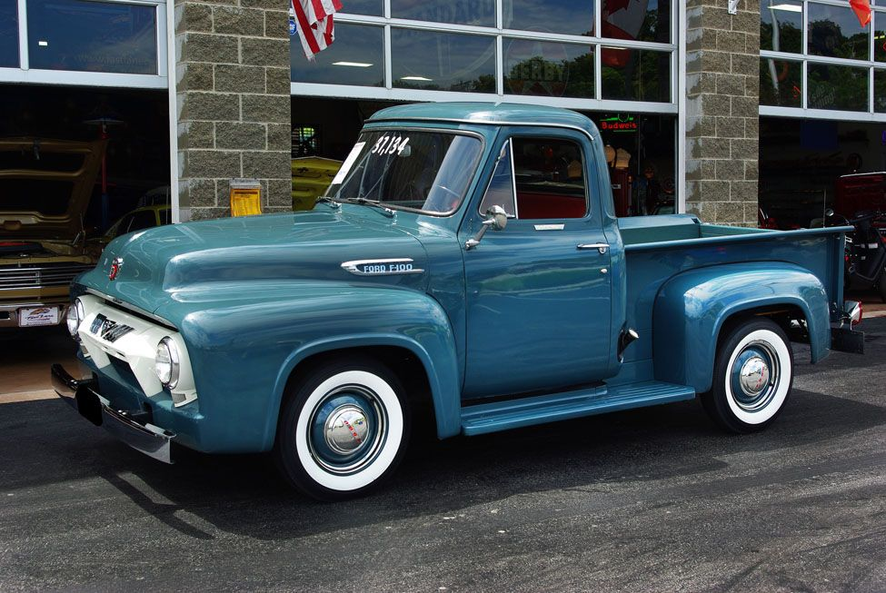 1954 Ford F 100 I Can See Myself Driving This But In A Hotter