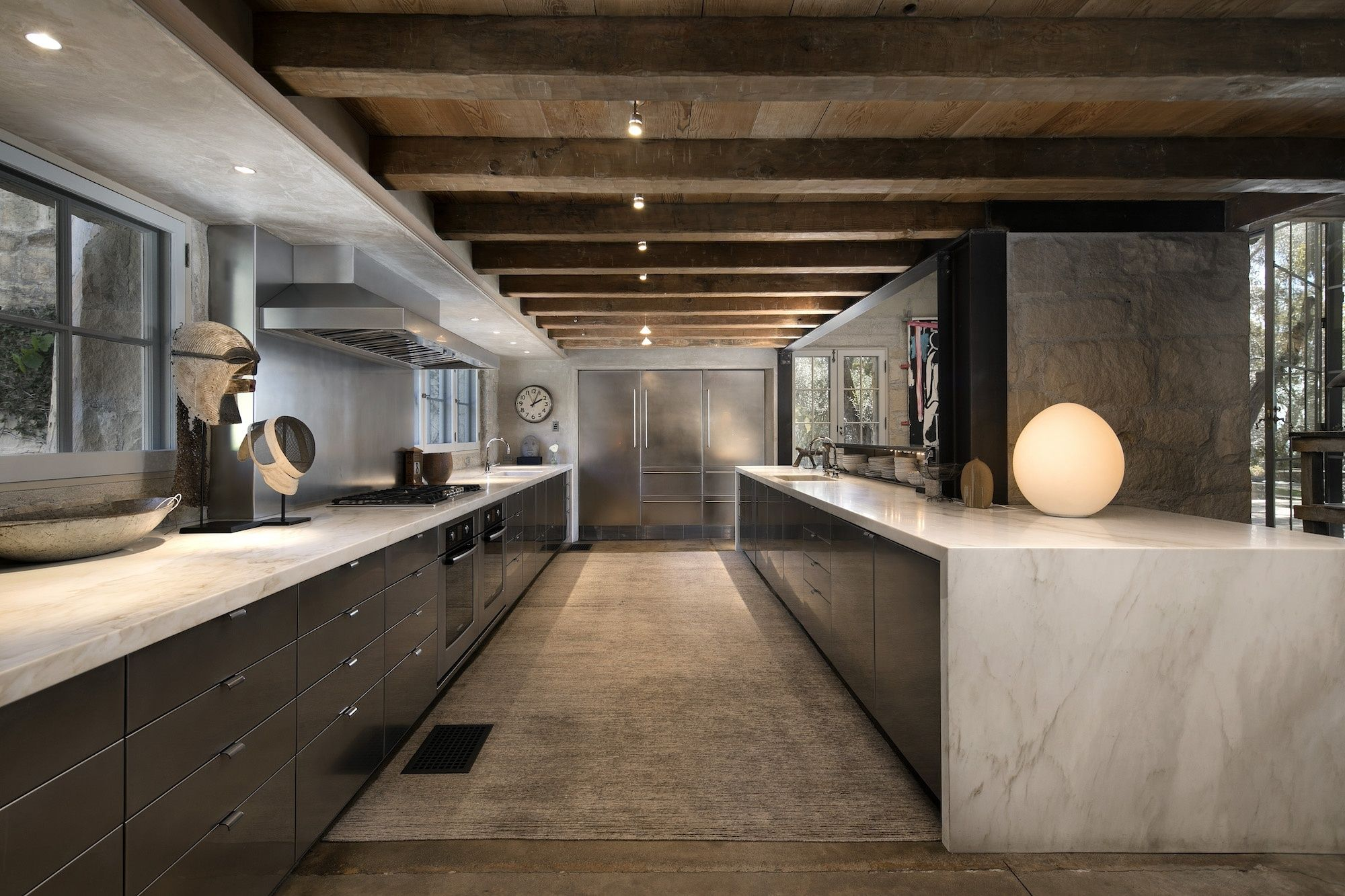 Une maison d 39 inspiration italienne santa barbara planete deco a homes world deco - Deco italienne maison ...