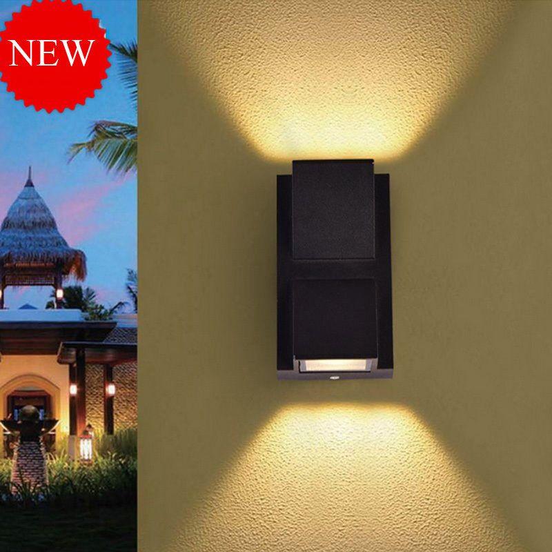 Villa Corridor Wall Lights Outdoor Waterproof Led Lamp