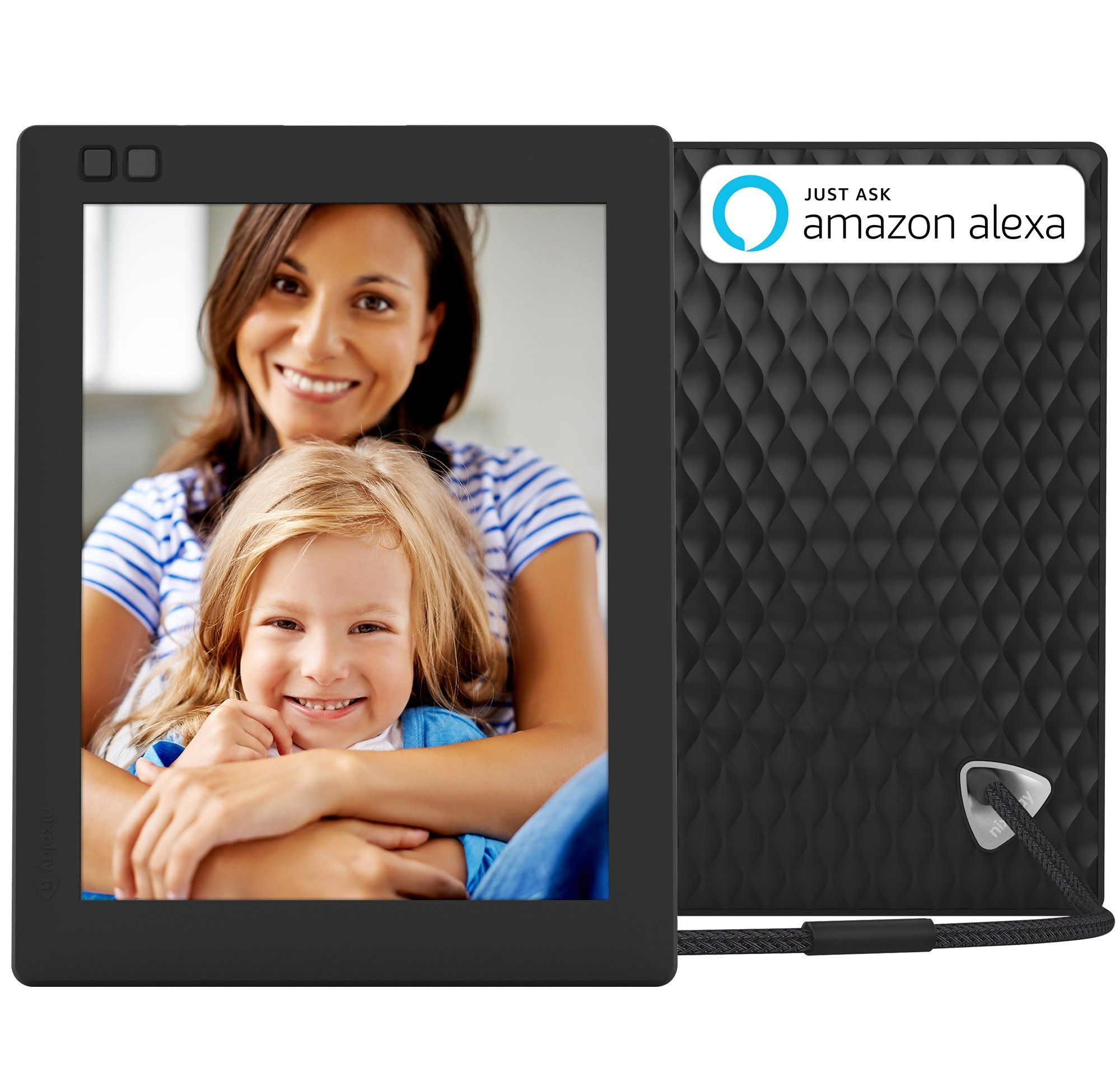 Nixplay Seed 8 Inch WiFi Cloud Digital Photo Frame with