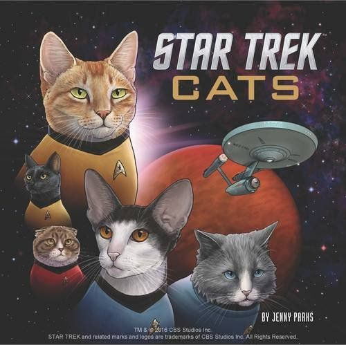 Star Trek Cats Chronicle Books 🖖 Coming Soon 🖖