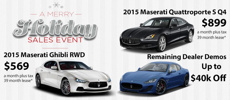 Maserati Specials Auto Gallery Los Angeles