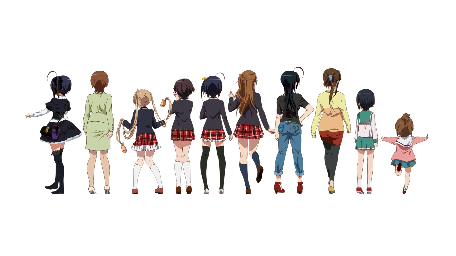 Anime Love Chunibyo Other Delusions Wallpaper Chunibyō Demo