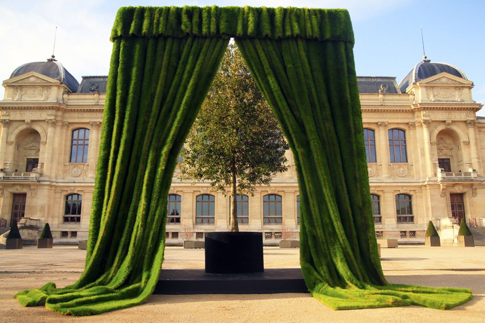 Action. The tree ceremony 3 - 7 December 2015 Jardin des Plantes…