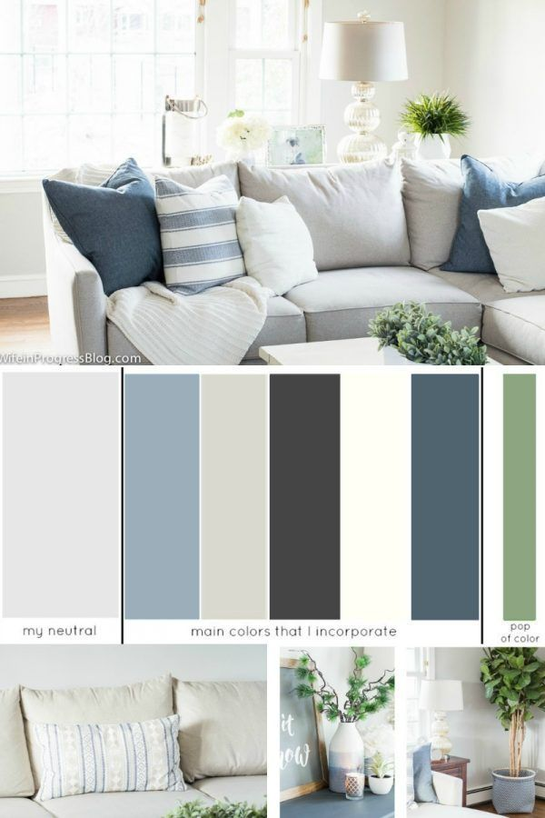 How To Pick The Perfect Colors For Every Room In Your Home Living Room Color Schemes House Color Schemes House Color Palettes