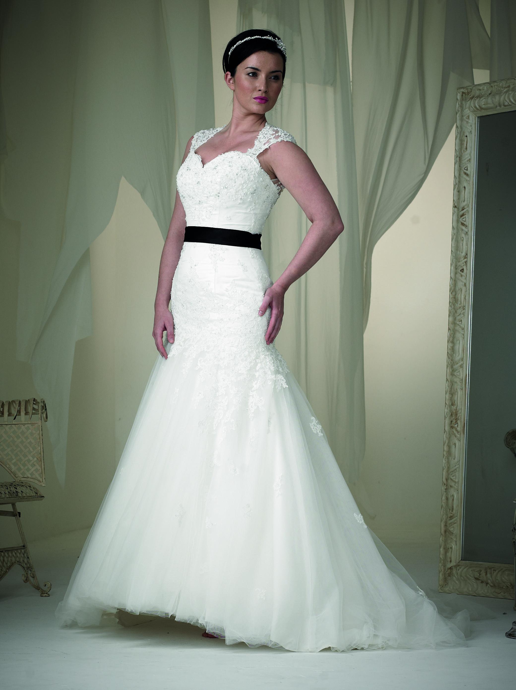 Fishtail Phoenix Gown wedding dress. Now on SALE Wedding