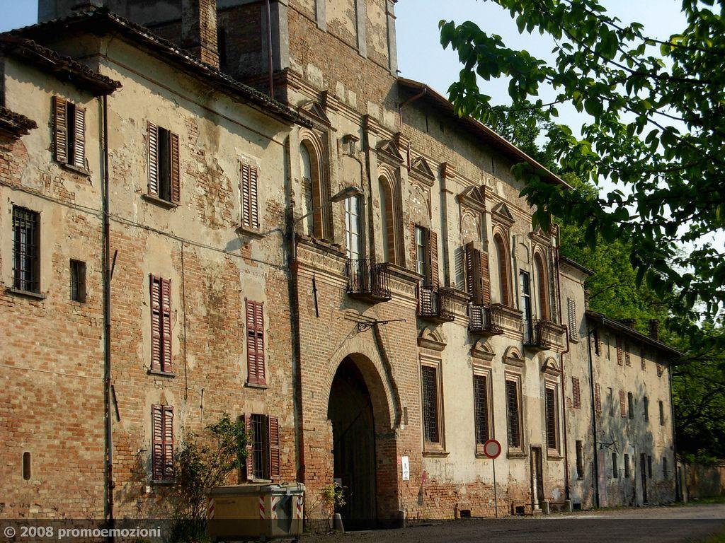 Castello, Castelletto di Branduzzo (Pavia) Lombardia, Italia