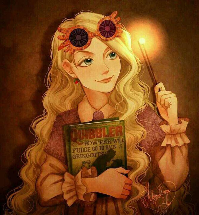 Fan Art Harry Potter – Luna Lovegood