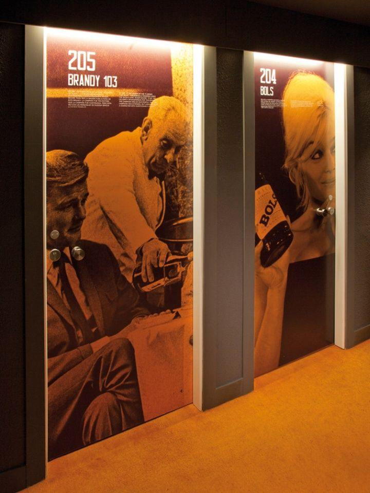 Each door gets a different photo! Chic & Basic Ramblas hotel by lagranja, Barcelona hotels and restaurants