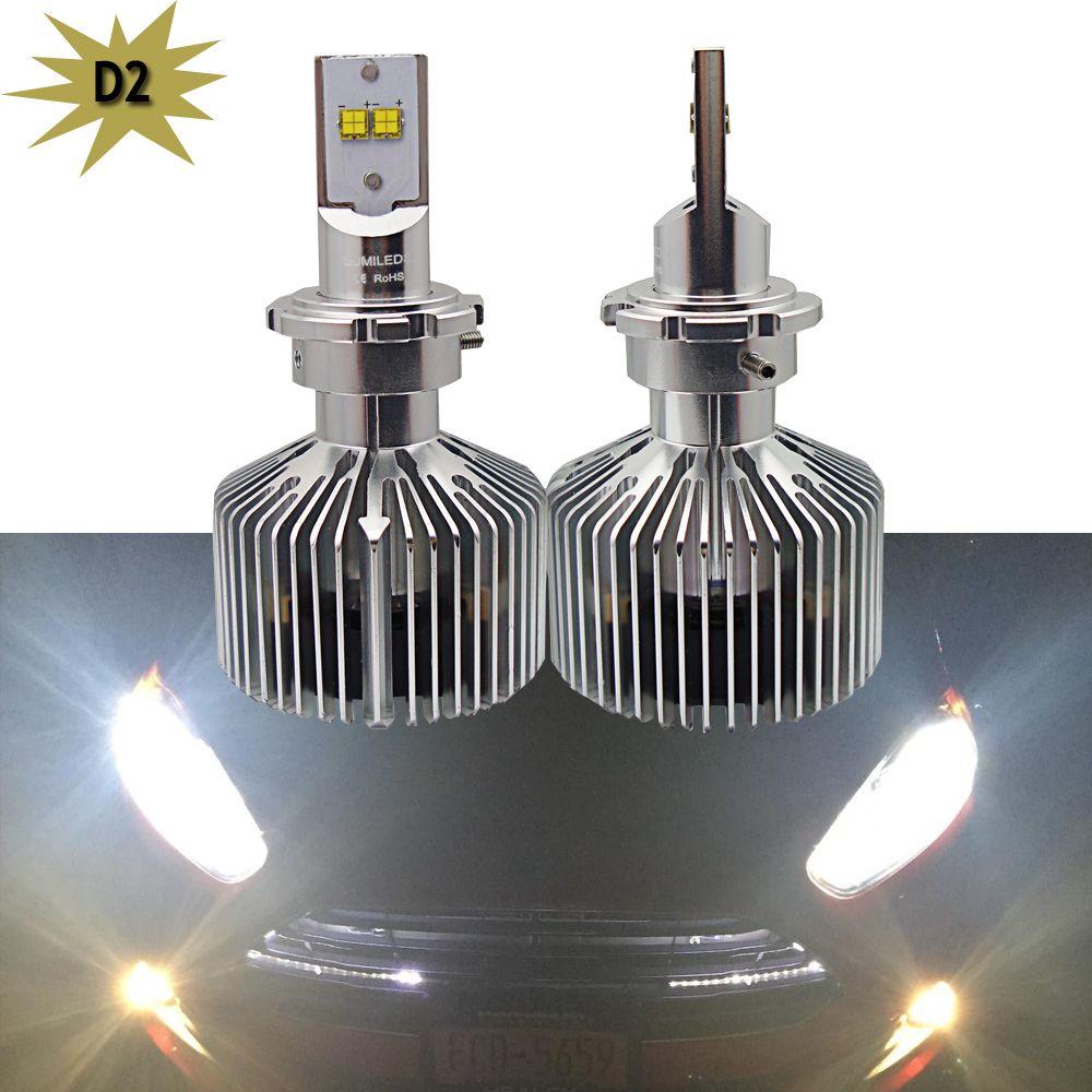 D1 D1s D1r D2 D2s D3 D3s D4 D4c Led Canbus 9000lm Led Headlight Kit Conversion Bulbs Replace Halogen An Led Headlights Cars Car Headlight Bulbs Headlight Bulbs