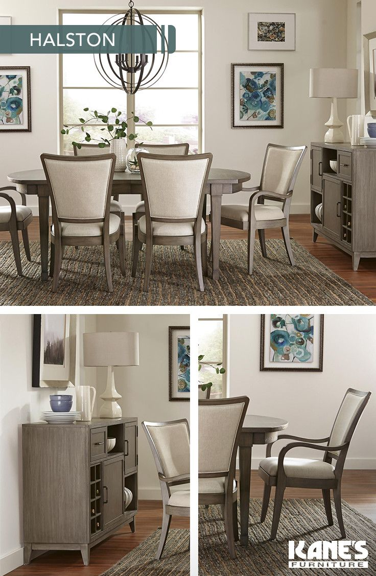 Add A Touch Of Class To Your Dining Room With The Halston Set The