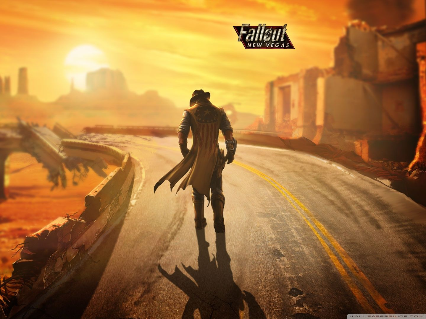Fallout New Vegas Wallpaper Hd Wallpaper Hd Fallout Wallpaper