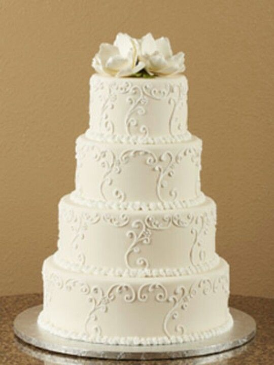 Beautiful elegant cake