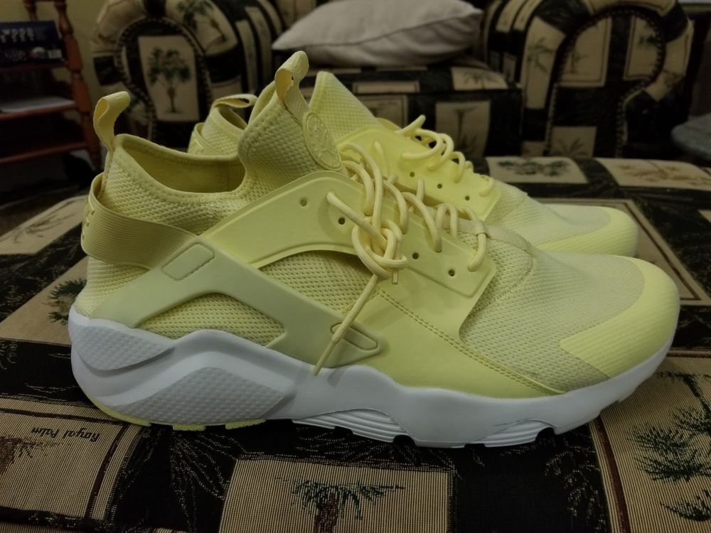 99049542ed8db Nike Air Huarache Run Ultra BR Breathe Lemon Chiffon Mens Size 15 ...