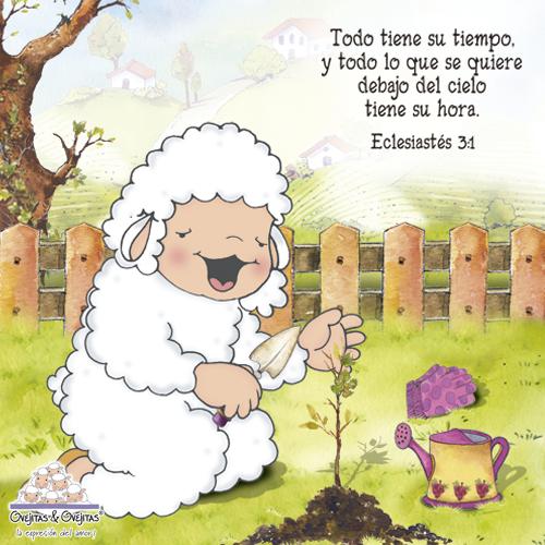 DE TODO UN POCO: tarjetitas cristianas de las ovejitas. | FUE MI ...