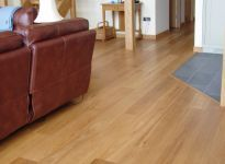 Chateau Prime grade engineered oak flooring in natural colour