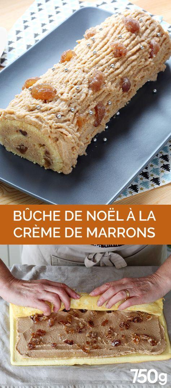 B che la cr me de marron recette en 2019 recette - Herve cuisine buche marron ...