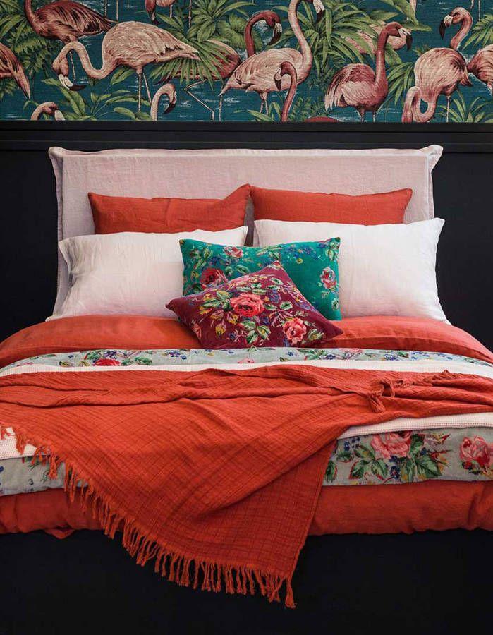 Linge de lit on ne se lassera jamais du lin