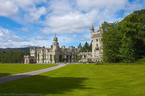View of Balmoral Castle