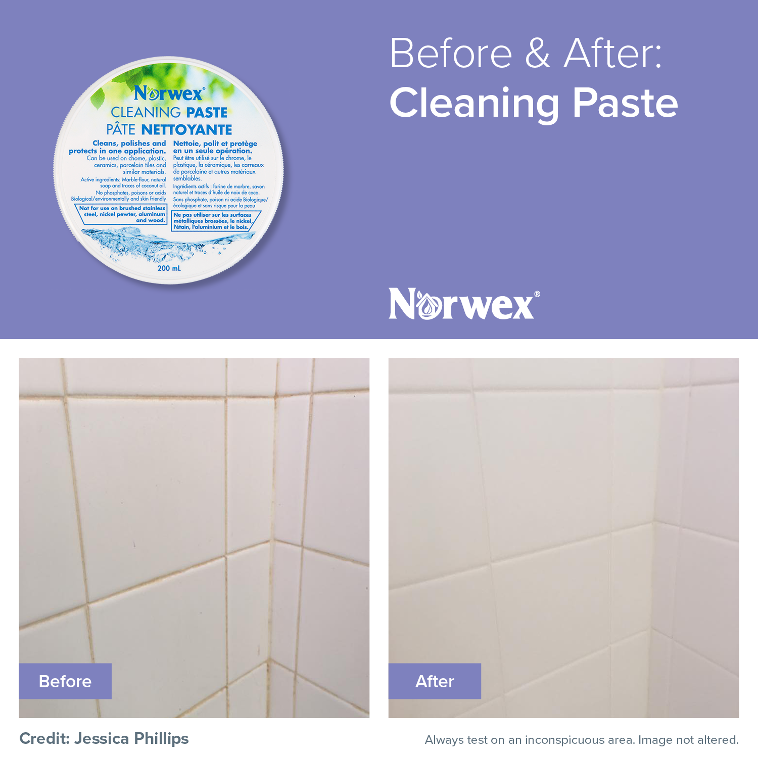 Easily And Quickly Remove Soap Scum And Caked On Dirt And