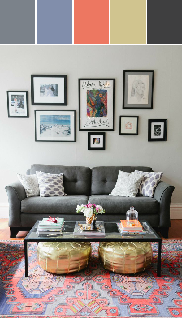 Swoonworthy Living Room Designed By Lisa Perrone | Stylyze Creative Director via Stylyze