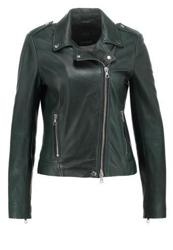 Zalando SE - SET Leather jacket ponde rosa pine - https://clickmylook.com/product/set-leather-jacket-ponde-rosa-pine/2988199