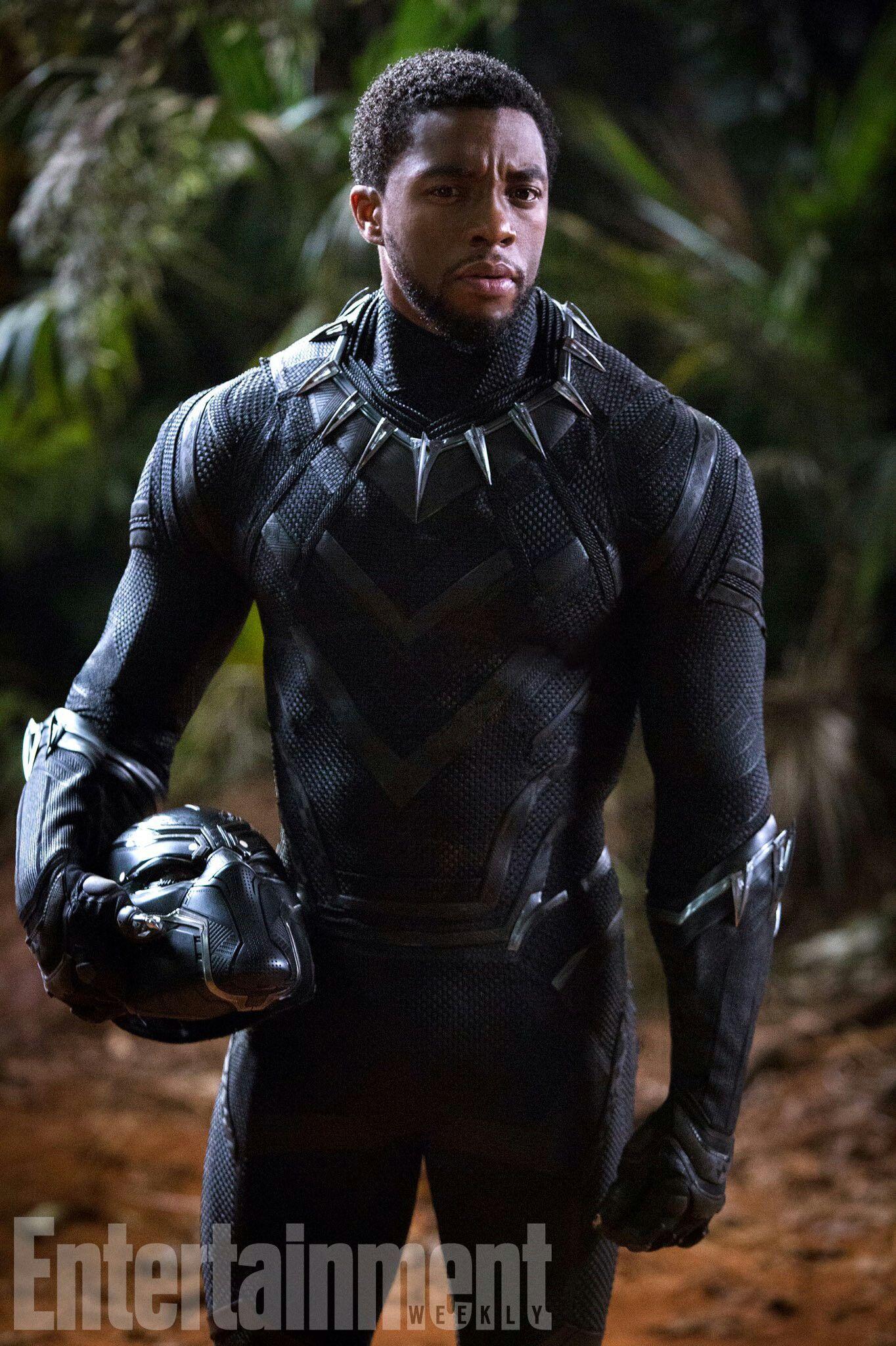 Nero Avengers Costume da pantera nera per bambini M Black Panther