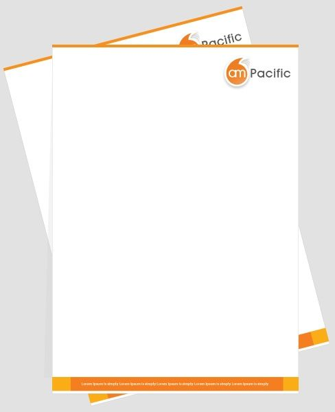 professional letterhead samples best template amp design images - professional letterhead