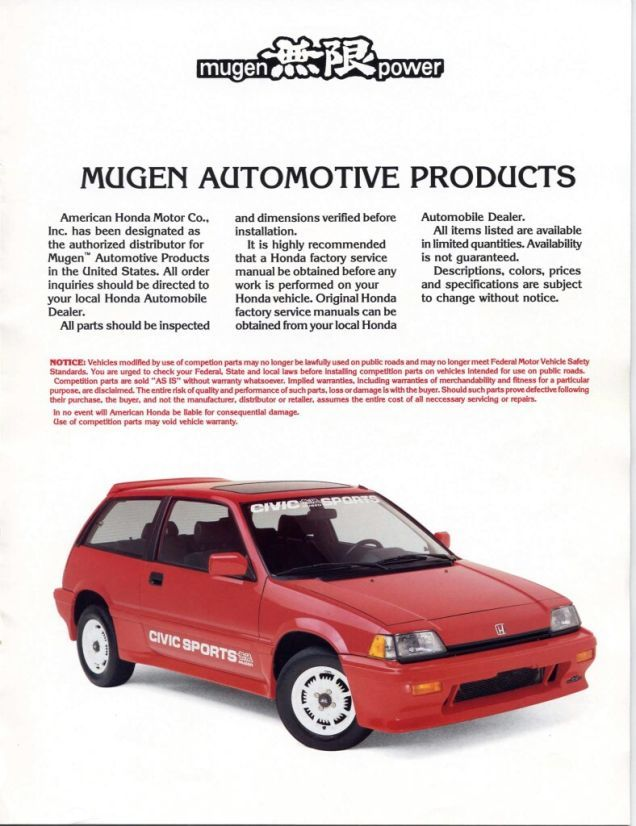 Your Old Honda Really Needs A Rad Set Of Mugen Wheels Honda Civic Hatchback Honda Classic Japanese Cars