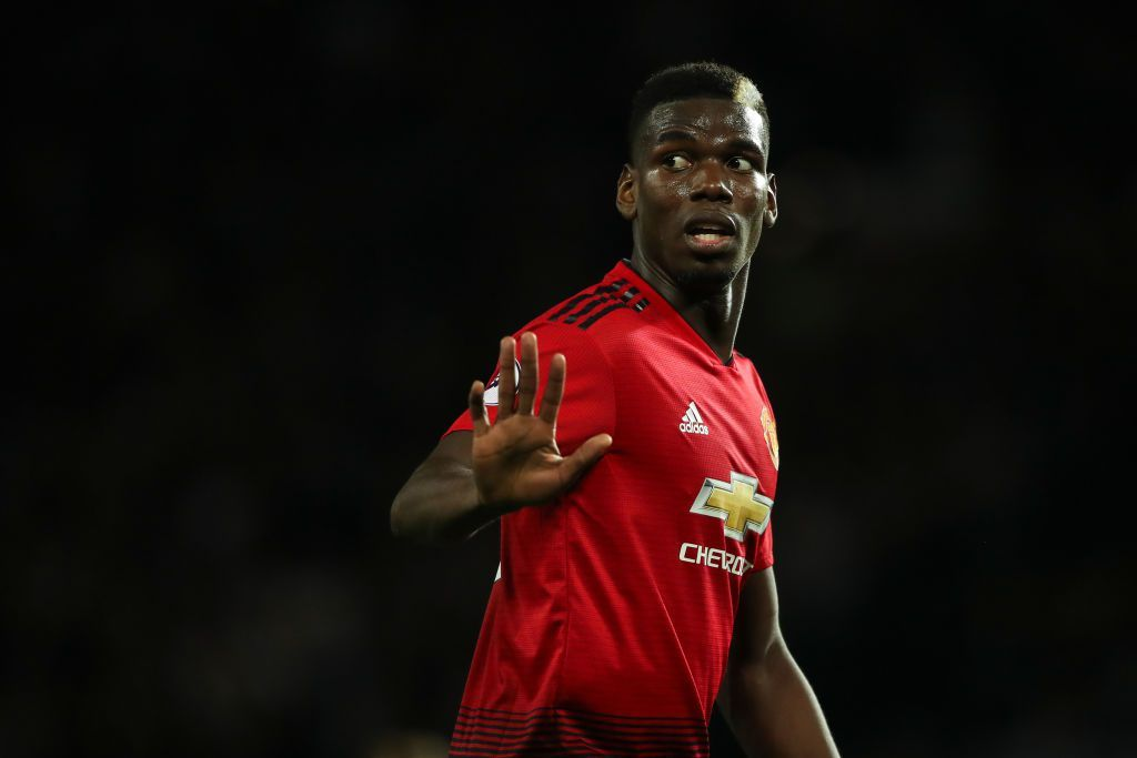 Manchester United Postpone Contract Talks With Paul Pogba In Light Of Barcelona Speculation Premier League Matches Manchester United Premier League