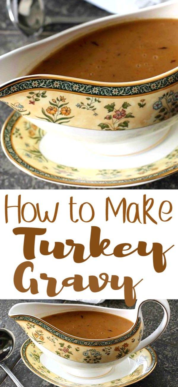 How to Make Turkey Gravy #turkeygravyfromdrippingseasy